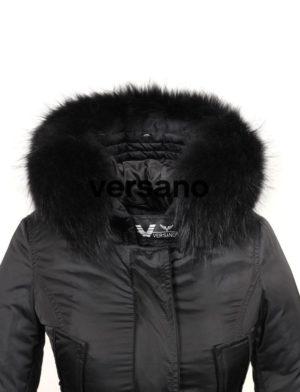 echte-bontkraag-medium-zwart-versano-voorkant
