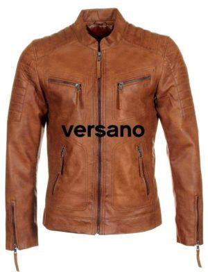 heren-motor-look-jas-imitatieleer-cognac-versano-trr36b-voorkant