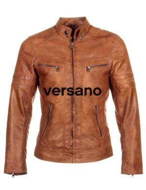 heren-zomerjas-jas-lederlook-cognac-versano-trr43-voorkant