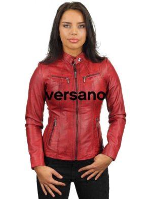 leren-jasje-rood-ronde-kraag-315-model2