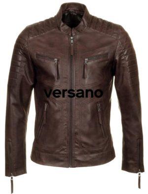 motor-look-heren-jas-bruin-imitatieleer-vesrano-trr36b-bruin-voorkant