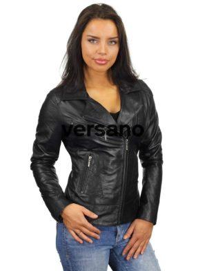 leren-dames-jas-zwart-305-model3