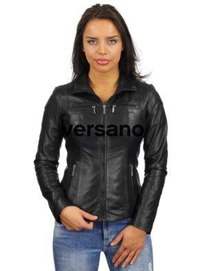 leren-jasje-dames-zwart-versano-340-model2