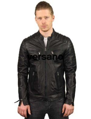 leren-jassen-heren-zwart-biker-model-TR36B-versano-model2