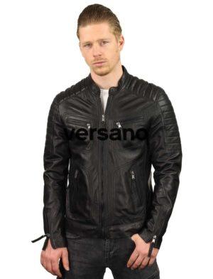 leren-jassen-heren-zwart-biker-model-TR36B-versano-model3