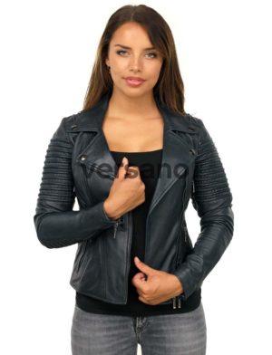 biker-jack-dames-blauw-versano-343-model1