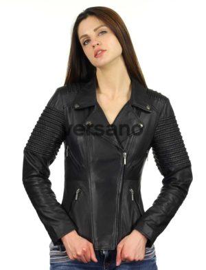 biker-jack-dames-zwart-versano-343-model2