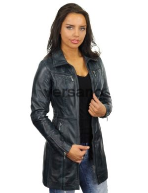 be3eb745d22e6 long-leather-ladies-coat-blue-versano-312-model2