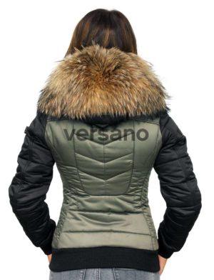 649a38c1bd6a dames-winterjas-bontkraag-met-badges-versano-zara-legergroen-
