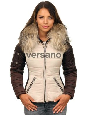 versano-dames-winterjas-met-bontkraag-shamila-beige-bruin-model1