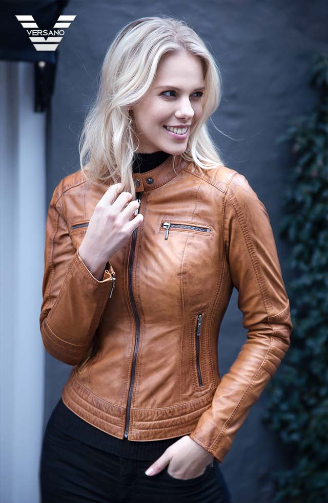 Nep Leren Jas Dames.Leren Jassen Dames En Heren Jasjes Leather Shop Doci